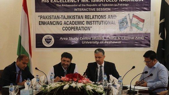 د تاجکستان سفیر د پاکستان سره مخ پر زياتيدو اړیکو ته وده ورکوي