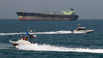 Gulf tensions rise as Iran's Revolutionary Guards seize oil tanker