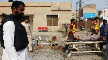 Female suicide bomber strikes hospital in Dera Ismail Khan