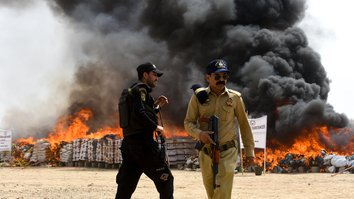 Iranian regime providing 'massive support' for drug trafficking in Pakistan