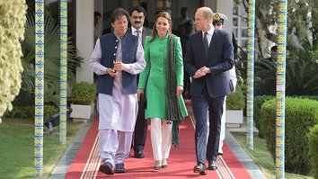 British royals Prince William and Kate Middleton kick off tour of Pakistan