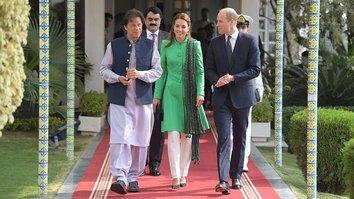 برطانوی شاہی خاندان کے شہزادہ ویلیم اور کیٹ میڈلٹن نے دورٴ پاکستان کا آغاز کر دیا