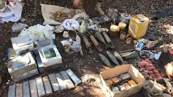 Pakistani forces find militant hideouts, recover arms cache in FATA