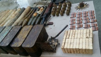 Security forces unearth massive militant arms caches across Pakistan