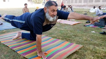 Yoga, laughter therapy help Dera Ismail Khan residents overcome trauma