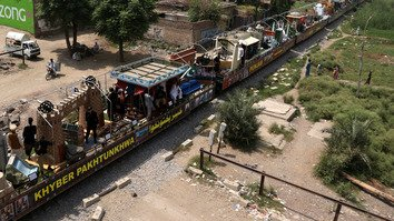 With violence subsiding, Pakistan resumes passenger train service to Kohat, Mardan