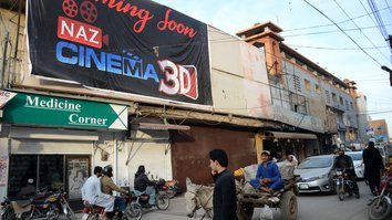 Peshawar's first Cineplex seeks to revive movie industry