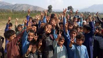 Jirga Pakistan's tent schools offer education for children in tribal districts