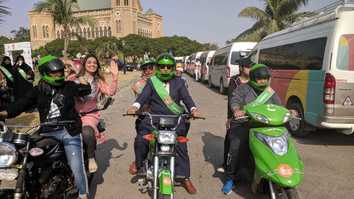 Women on Wheels campaign gets women moving in Karachi
