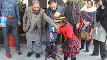 Terrorism-scarred Pakistanis observe International Day of Disabled Persons