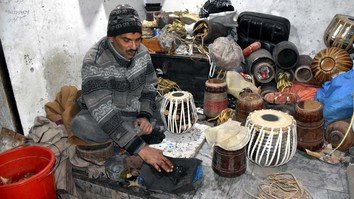In photos: musical instrument artisans stay resilient in Peshawar