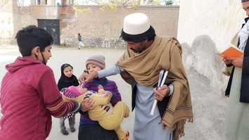 Terrorist propaganda continues to put children at risk of polio