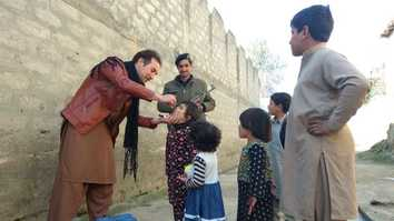 Polio victim raises awareness about vaccine effectiveness in Bajaur