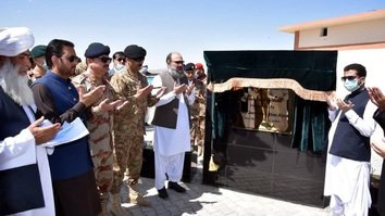 New trade terminal on Pak-Afghan border aims to spur regional stability